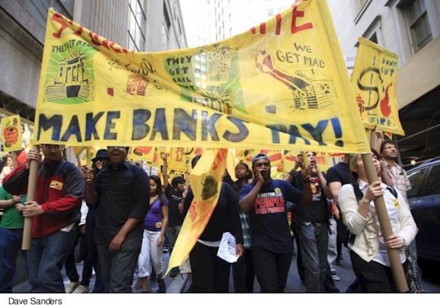 Make Big Banks Pay!