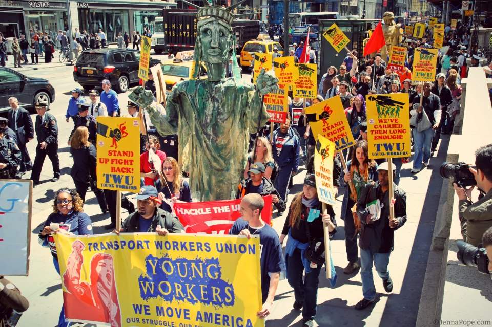 Young Transit Workers Build Their Power